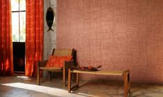 <p>A wall covering with a craft-woven effect of natural plant fibres: Agave.<br />An original and sophisticated collection. Supple looking weft accentuated by a weave effect of dense or loosely woven threads, tight or slack, with entwined colour pigments. </p> <div> <div>Wall covering matt or pearly, depending on the shade.</div> </div> <div> </div> <div> </div>