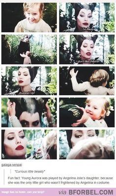 Vivienne Jolie-Pitt As Young Princess Aurora…so cute