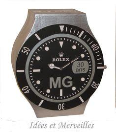 URNE ROLEX Breitling, Rolex Watches, Deco, Accessories, Urn, Watch, Silver, Birthday, Decor