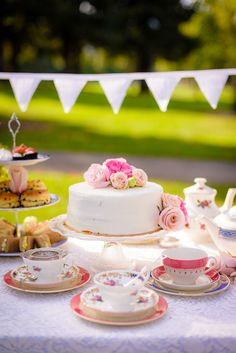 If the thought of a pretty, feminine, and ultra-fun spring time bridal shower tea party tickles your fancy, then this post has your name written all over it
