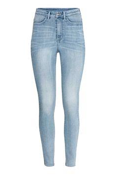 90bd13937e Super Skinny High Jeans - Light denim blue - Ladies | H&M GB Jeans Azul,