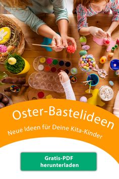 Creative crafting tips for Easter - Ads - Ostern - Bastelideen - Creative Crafts, Diy Crafts For Kids, Craft Ideas, Indoor Activities, Activities For Kids, Spring Crafts, Paper Plates, Easter Crafts, Happy Easter