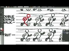 ▶ how to animate a walking cycle in Flash cs6 - YouTube