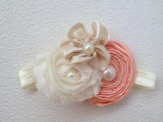 15% off Vintage ivory lace posh petti ruffle romper by BabyIsland