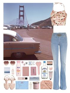 """""""249 ~Cherry ice cream smile I suppose it's very nice~"""" by snake-eyes-and-sissies ❤ liked on Polyvore featuring Mother, Miss Selfridge, Topshop, Forever 21, Royce Leather, Herbivore, Target, CASSETTE, Chanel and L'Occitane"""