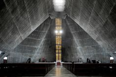 St. Mary's Cathedral in Tokyo / Kenzo Tange
