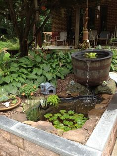 how to make a pond without pump