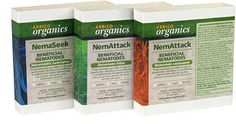 beneficial nematodes -for natural pest control of fleas, ticks, fire ants, chiggers and more.