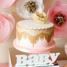 Cake Flower Party First Birthday (Торт для Цветочного первого дня рождения)