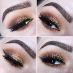 Beautiful look by ErikaMichelleMakeup using the Vegas Lights Palette. The rich neutral hues in this look are perfect for any fall look!
