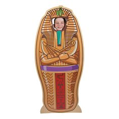 "$26.50 25"" X 57.5"" Egyptian+Pharaoh+Stand-Up+-+OrientalTrading.com"