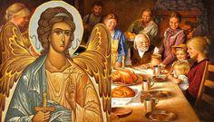 Με ποιον τρόποο Άγγελος του σπιτιού μας, προστατεύει εμάς και την  οικογένεια μας , τι πρέπει να κάνουμε και ποιοι είναι οι κ... Orthodox Prayers, Faith In God, Religion, Blessed, Christian, Painting, Art, Vintage Ideas, Angels