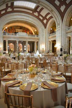 city hall rotunda cleveland wedding - Google Search