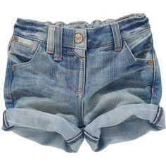 Buy Mid Wash Denim Shorts (3mths-6yrs) from the Next UK online shop ($14) found on Polyvore