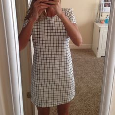 white and black checkered dress white and black checkered dress. never worn! Romeo & Juliet Couture Dresses Mini