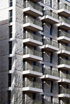 The Finished façade