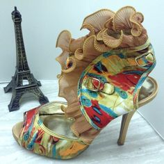 ❤❤FLASH SALE❤Gorgeous heelswild rose Excellent condition, worn once only!! soooo beautiful  Shoes Heels
