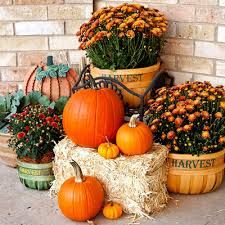 """Képtalálat a következőre: """"fall harvest decorations outdoors"""""""