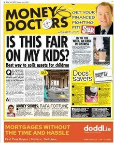 Irish Daily Star – Money Doctor column Thursday 3rd June 2021 Q You Got This, Thats Not My, In Distress, Daily Star, To My Daughter, Irish, Finance, Money, Stars