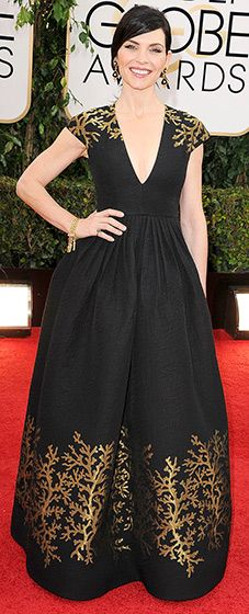 Julianna Margulies in Andrew Gn, Golden Globes 2014