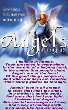 angels among us | Believe that there are Angels Among Us,,,,Do You