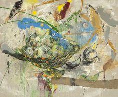 "Saatchi Art Artist Dimitar Hinkov; Painting, ""Apples in Summer"" #art"
