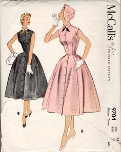 McCall's 9704 sewing pattern