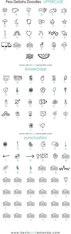Pea Deliah's Doodles