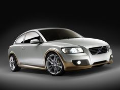 Volvo small sports cars stock photography in HD images