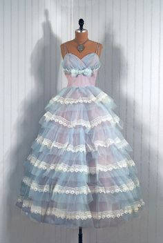 prom dress  1950s  timeless vixen vintage