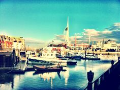 Southsea Blue - Old Portsmouth 2012 - A Walk in the Sun #southsea #portsmouth #photography