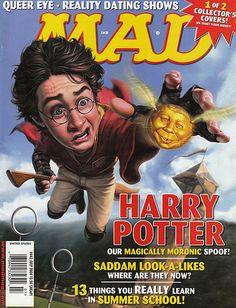 mad magazine | MAD Magazine cover - harry-potter-vs-twilight Photo