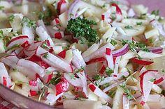 Radieschen - Apfel - Salat 1