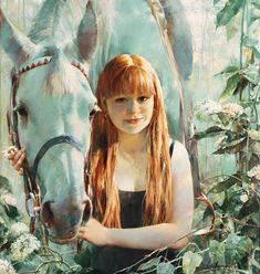 Painted Pony, High Art, Art School, Rose, Art Museum, Mythology, Scenery, Creative, Painting