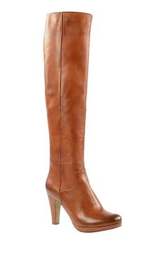 #fashion #womenswear #boots #highheels #camel #Sacha #wehkamp