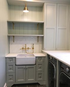 Urban Grace Interiors on Instagram | Laundry Room, SW Oyster Bay??