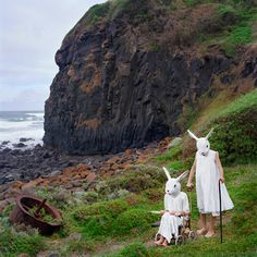Polixeni Papapetrous, The Loners, 2009, pigment ink print, 105 x 105 cm