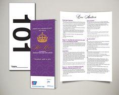 American Cancer Society 2013 Key Gala Auction Card