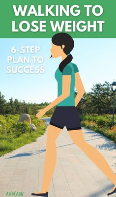 Walking may sound too basic or too easy, but when done right, it is a great addition to a weight loss program. So let's explore exactly how walking can be used to lose weight. Warning, there is an elephant in the room... #avocadu #walkingforweightloss #walkingplan #easyweightloss Weight Loss For Women, Easy Weight Loss, Weight Loss Program, Loose Weight, How To Lose Weight Fast, Walking Plan, Steps To Success, Health Fitness, Women's Health