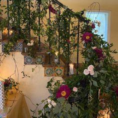 Reception Decorations, Tablescapes, Floral Wreath, Wreaths, Elegant, Beautiful, Vintage, Design, Home Decor