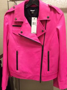 Schott in pink | biker jacket | Pinterest | Pink