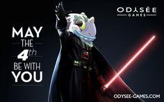 #MayThe4thBeWithYou Que la force soit avec vous ... et avec Odysée Games !