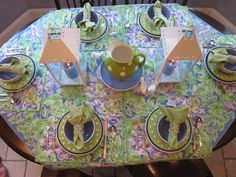 The Tablescaper: August 2009 Tablescapes, Table Settings, Table Decorations, Spring, Summer, Home Decor, Summer Time, Decoration Home, Room Decor