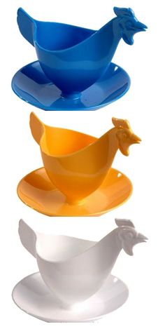 DDR Plastic Egg Cups