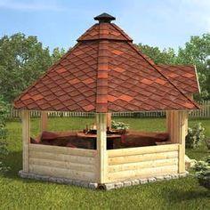 ... BBQ Hut Grill House Grillkota Barbecue Winter Summer Garden Log Cabin