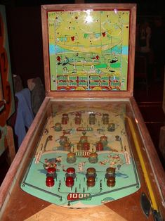 1939 - Genco - Circus Arcade Game Machines, Vending Machines, Arcade Machine, Arcade Games, Pinball Wizard, Penny Arcade, Traditional Games, Carnival Games, Old Coins