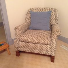 """Williamsburg Apple chair 33.5"""" wide by 33""""deep by 32"""" high"""