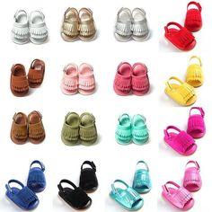 0670bc4ca0fba Baby Girl s Leisure Sandals PU Tassel Summer Baby Girl s Leisure Sandals PU  Tassel Summer