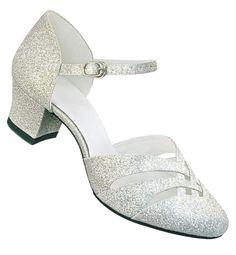 Aris Allen Silver 1920s d'Orsay Dance Sandal Low Heel $44.95  http://www.vintagedancer.com/1920s/buy-1920s-shoes-for-women/
