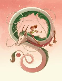 Chihiro and Haku from Mikemaihack on deviantART 711